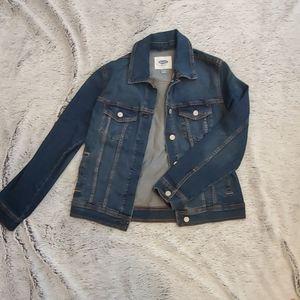 Jean jacket, size M, never worn